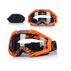 NAXA G3J ANTIFOG ORANGE - motokrosové okuliare