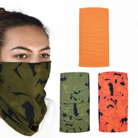 Oxford COMFY Havoc Orange 3-Pack multifunkčné šatky na hlavu a krk