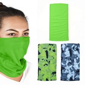 Oxford COMFY Havoc Green 3-Pack multifunkčné šatky na hlavu a krk