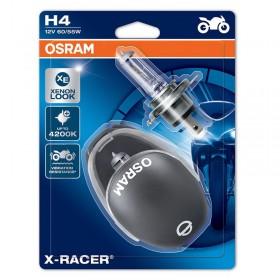 Sada žiaroviek H4 60/55W OSRAM P43T X-RACER 4200K