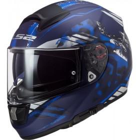 Prilba LS2 FF397 VECTOR EVO STENCIL matt blue