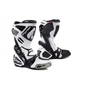 FORMA ICE PRO racingové vysoké čižmy, biele