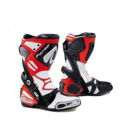 FORMA ICE PRO racingové vysoké čižmy, červené