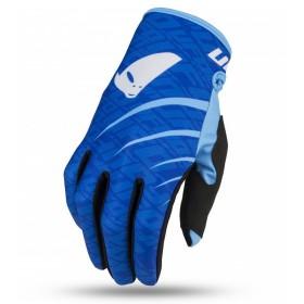 UFO SKILL INDIUM motokrosové rukavice, modré