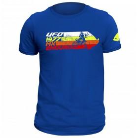 UFO T-SHIRT ALIEN BLUE TG pánske tričko s potlačou