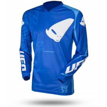 UFO INDIUM motokrosový dres, modrý