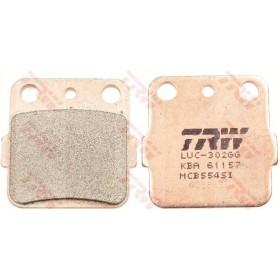 MCB554SI TRW brzdové doštičky