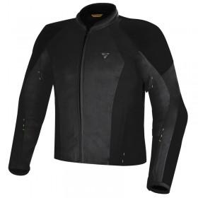 SHIMA JET BLACK pánska nepremokavá letná bunda na motorku