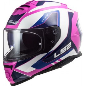 Prilba LS2 FF800 STORM TECHY white pink