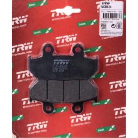 MCB624 TRW predné brzdové doštičky