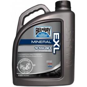 BEL-RAY EXL Mineral 4T 10W-40 minerálny motorový olej 4L