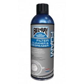 BEL-RAY FOAM filter cleaner & degreaser čistič penových vzduchových filtrov 400ML v spreji