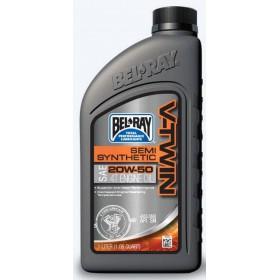 BEL RAY V-TWIN Semi-Synthetic 20W50 1L motorový olej