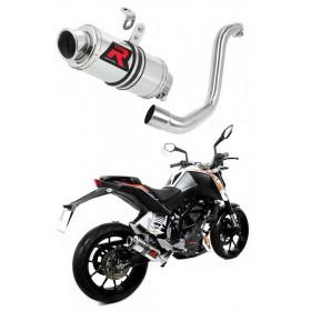 Ladený výfuk KTM 200 DUKE 2011-2016 DOMINATOR