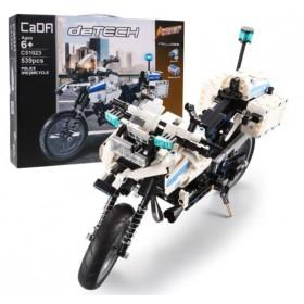 RC stavebnica - policajná motorka 539 dielov
