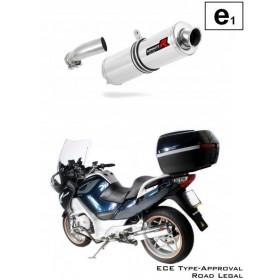 Ladený výfuk DOMINATOR - BMW R1200RT 2010-2013 homologizácia