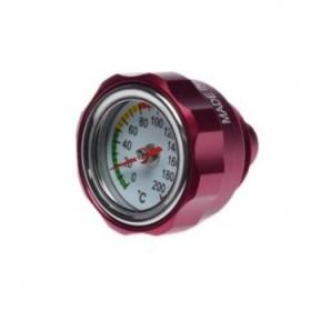Nalievacia skrutka oleja s ukazovateľom teploty YAMAHA M27x3 červená