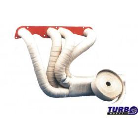 SPEEDMAX termoizolačná páska na výfukové zvody motocyklov 800°C, keramická - biela