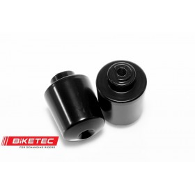 BIKETEC závažia na riadítka HONDA CBR 125 2011-, 53105-KTY-H50, čierne