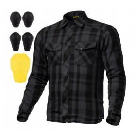 SHIMA RENEGADE BLACK kevlarová košeľa