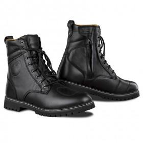 SHIMA THOMSON BROWN kožené štýlové topánky