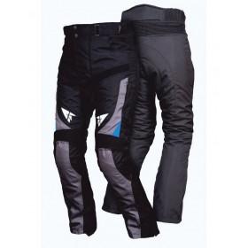 L&J STM003 pánske textílne nohavice čierno-modré