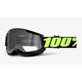 100 PERCENT STRATA 2 UPSOL motokrosové okuliare - transparentné sklo