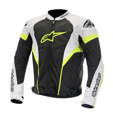 Alpinestars T-GP PLUS R Black/White/Yellow