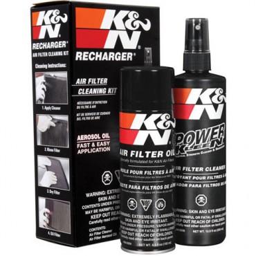 K&N čistič+olej sada