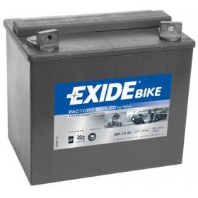 GEL12-30 12V 30Ah 180A EXIDE gélový akumulátor pre motocykle