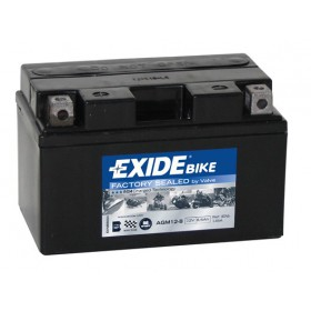 EXIDE BIKE AGM 12-8 12V 8,6Ah 150A