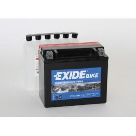 YTX12-BS 12V 10Ah 180A EXIDE AGM akumulátor pre motocykle