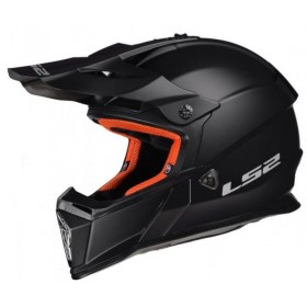Prilba LS2 MX437 FAST GLITCH matt black