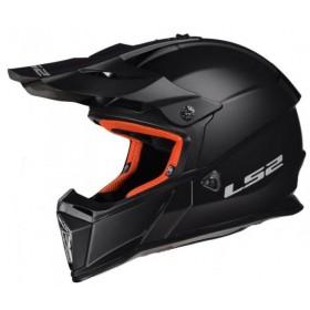 Prilba LS2 MX437 FAST SOLID matt black