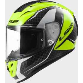 Prilba LS2 FF323 Arrow C FURY Carbon Hi-Vis Yellow
