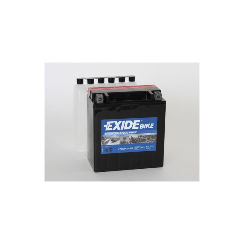 YTX20CH-BS 12V 18Ah 270A EXIDE AGM akumulátor pre motocykle