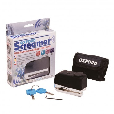 OXFORD OF229 SCREAMER zámok na kotúč s alarmom