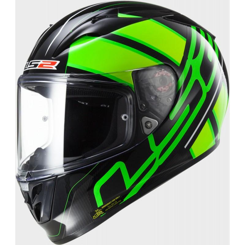 Prilba LS2 FF323 Arrow R ION black fluo green