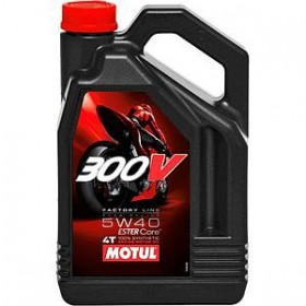 MOTUL 300V FACTORY LINE ROAD RACING 5W40 4L