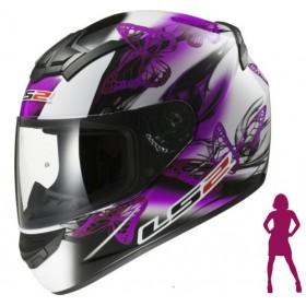 Prilba LS2 FF352 Flutter white purple