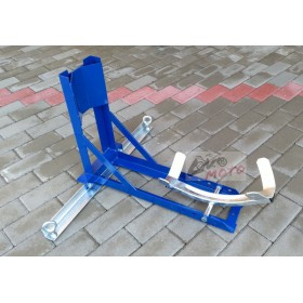 Transportný moto stojan modrý