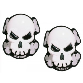Slidery OXFORD KNEE SLIDERS SKULL biele OF260
