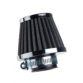 Univerzálny vzduchový filter chróm 35mm