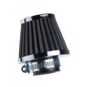 Univerzálny vzduchový filter chróm 42mm