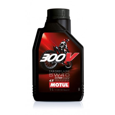 MOTUL 300V FACTORY LINE OFF ROAD 5W40 1L