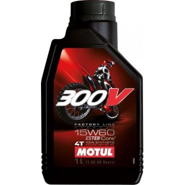 MOTUL 300V FACTORY LINE OFF ROAD 15W60 1L