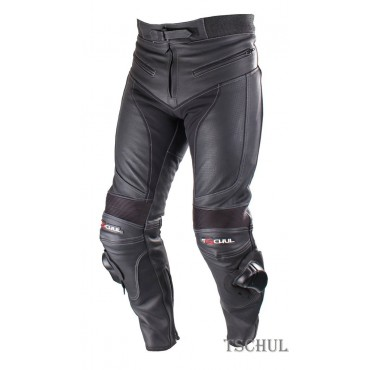 TSCHUL M60 pánske športové kožené nohavice