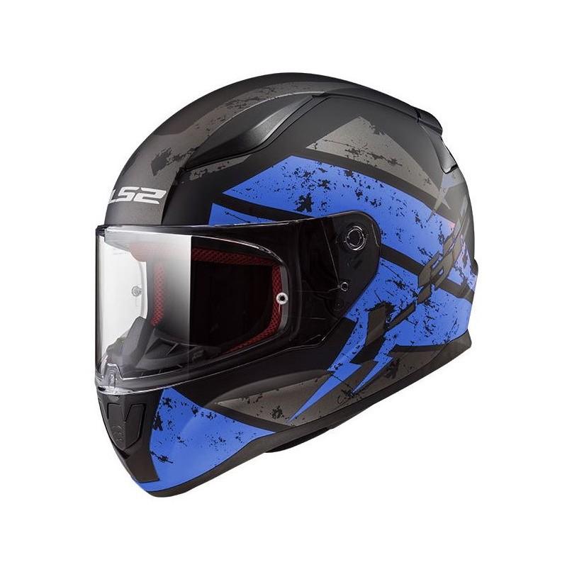 Prilba LS2 FF353 RAPID DEADBOLT blue
