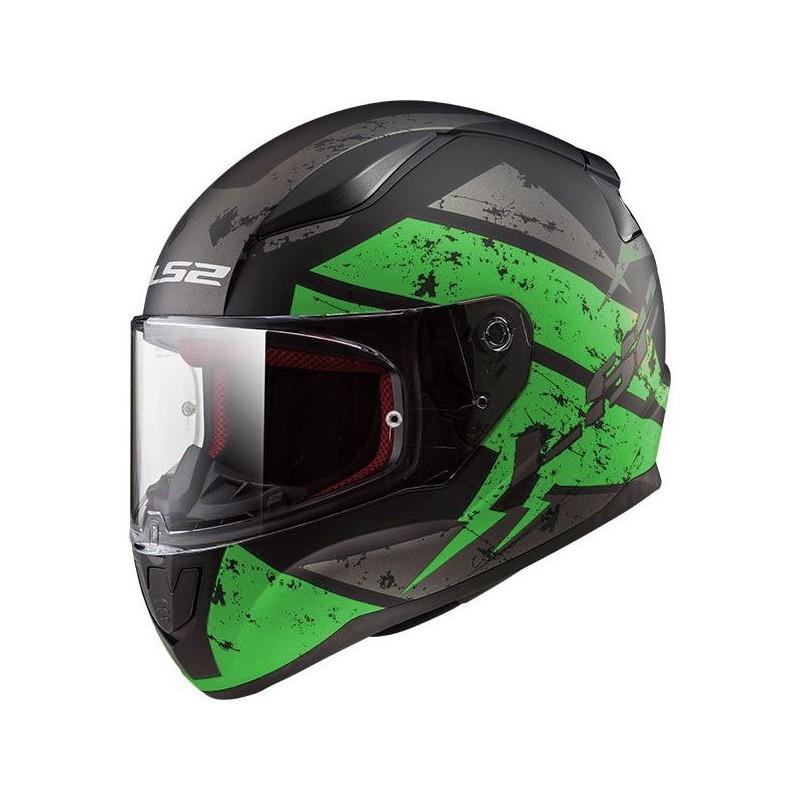 Prilba LS2 FF353 RAPID DEADBOLT green