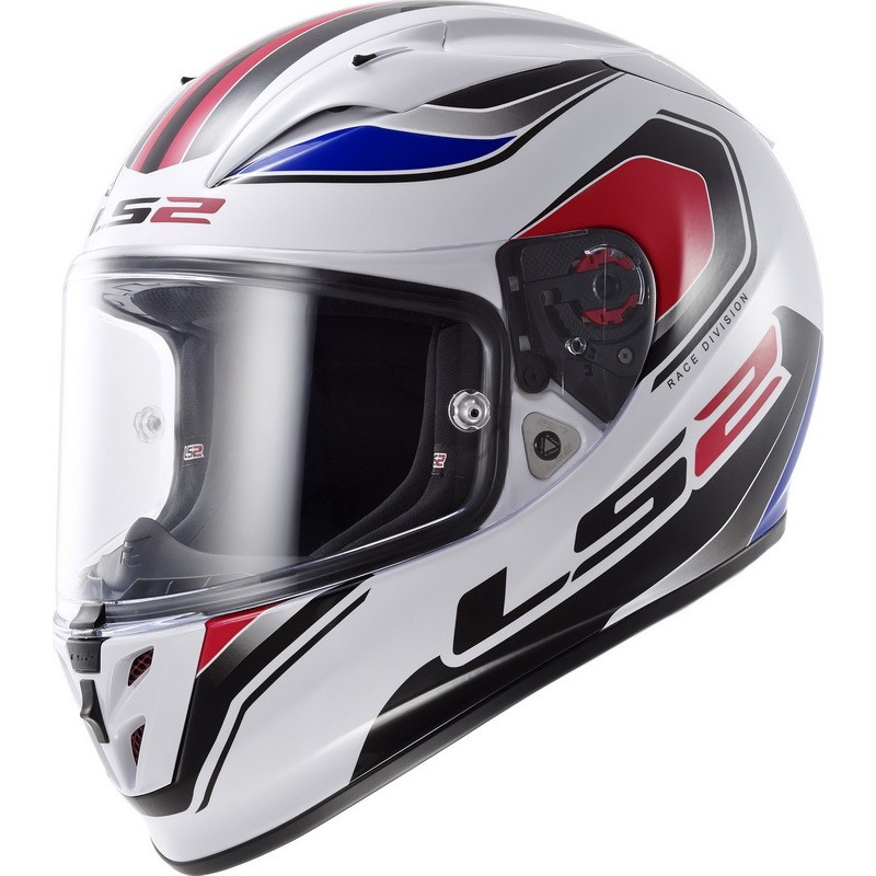 Prilba LS2 FF323 Arrow R GEO white-blue-red